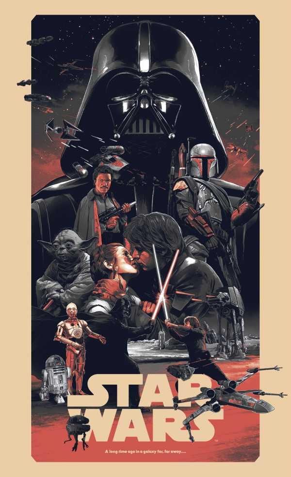 Os Posters de Star Wars do Grzegorz Domaradzki