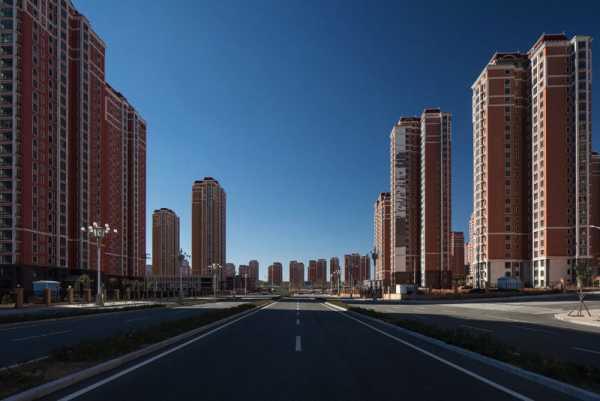 Uma Cidade Fantasma Chinesa por Raphael Olivier