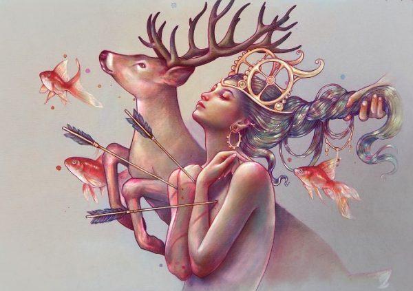 As Ilustrações de Marta Adán