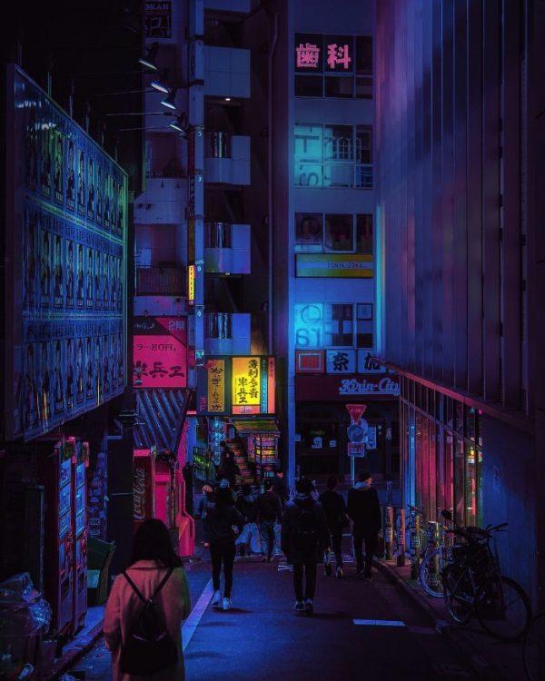 Tóquio pelas lentes de Liam Wong