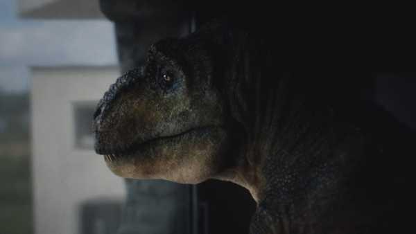 Um Tiranossauro Rex para a Audi em The Comeback