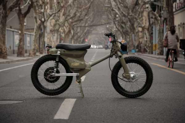 eCub 2: Uma Motocicleta Elétrica do Shanghai Customs