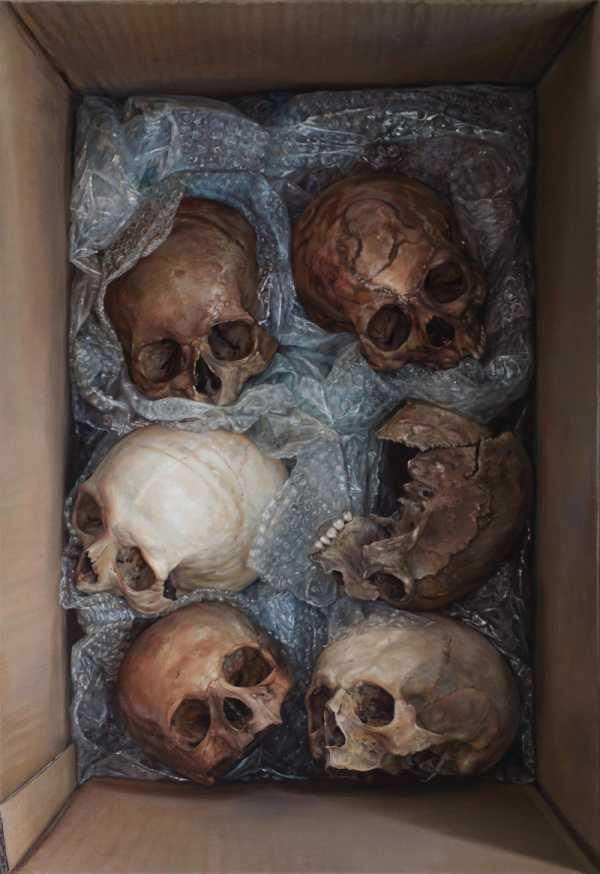 A Morte nas pinturas de Cindy Wright