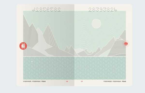 O Novo Passaporte da Noruega pelo Neue