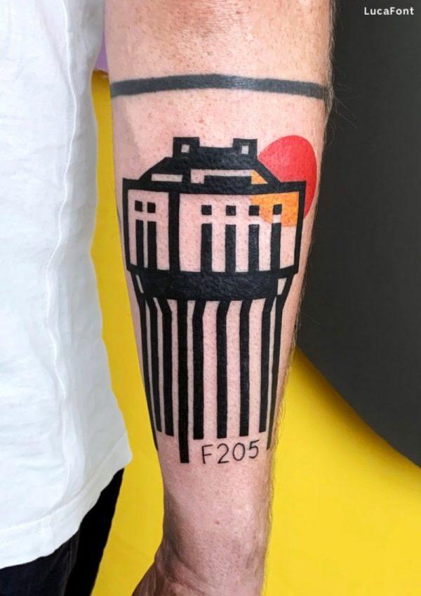 A Arte e a Tatuagem de Luca Font