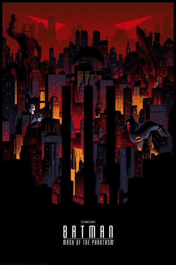 Batman: The Animated Series nas ilustrações de Chris Thornley