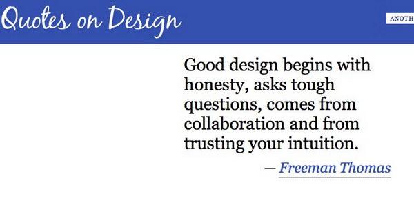 Citações sobre Design