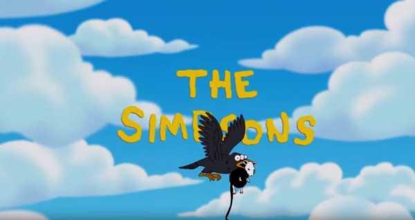 A abertura de Simpsons por Banksy