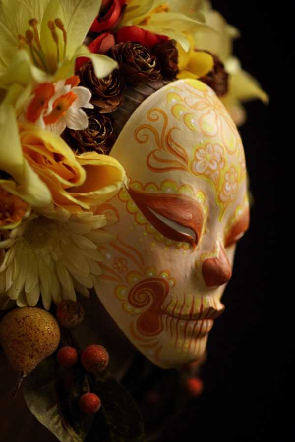 As Caveiras Mexicanas de Krisztianna Ortiz