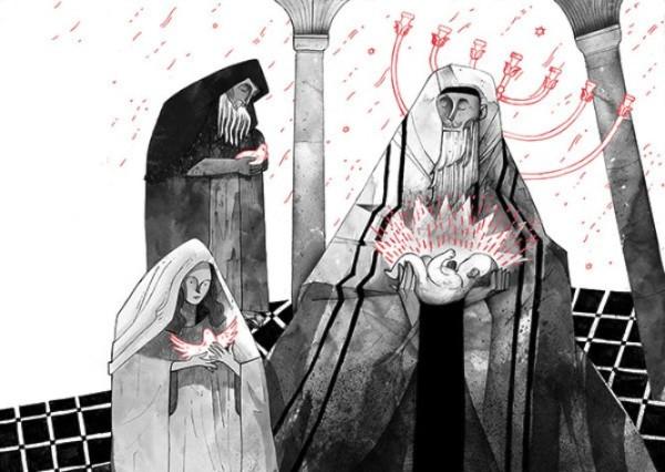 As Ilustrações editoriais de Patryk Hardziej