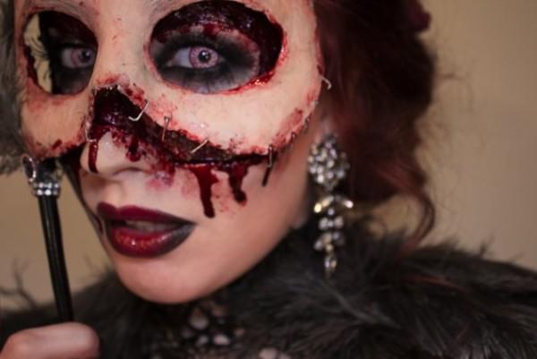 A Maquiagem de Halloween da Sandra Holmbom