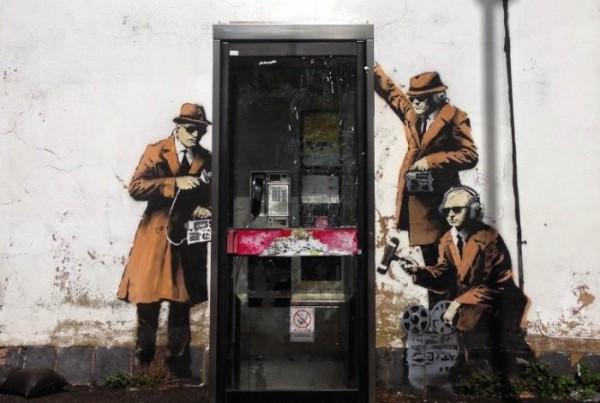 Banksy em Cheltenham