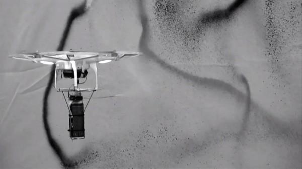 Drone Art – Pintando com um Drone