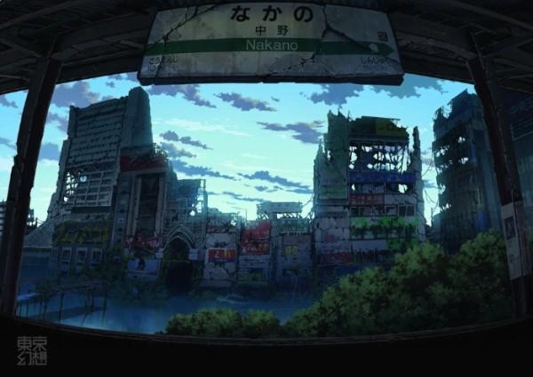 Tóquio em pedaços por Tokyogenso