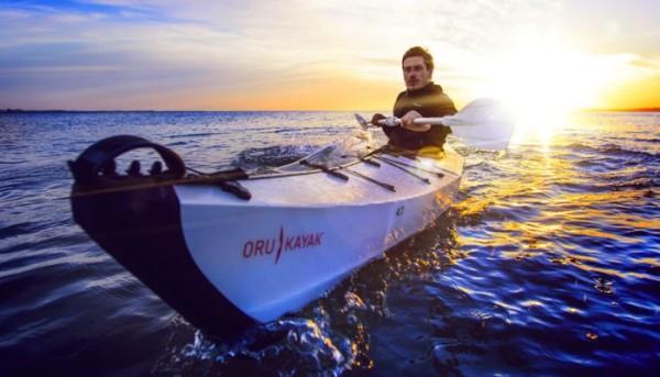 ORU Kayak: Um Caiaque Dobrável para Iniciantes