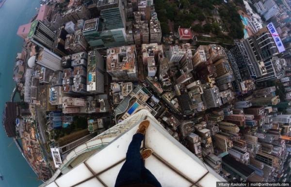 On The Roofs: Vendo Hong Kong de Cima