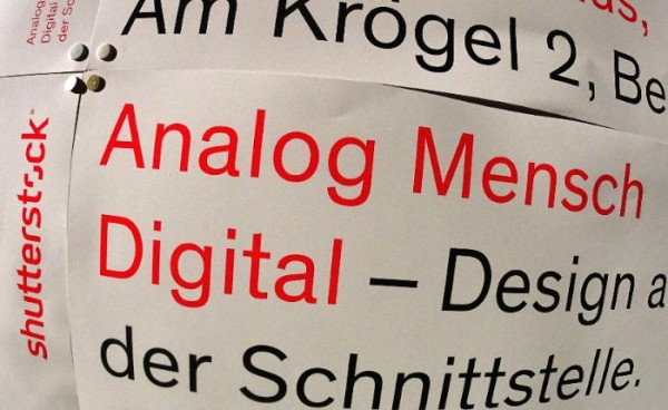 Analog Mensch Digital