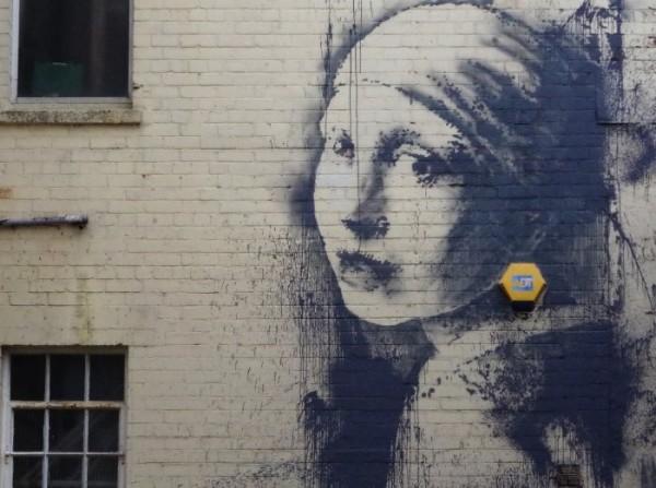 Banksy: Girl with a Pierced Eardrum