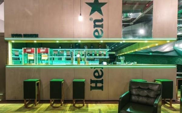 Heineken e seu Primeiro bar conceito no Brasil