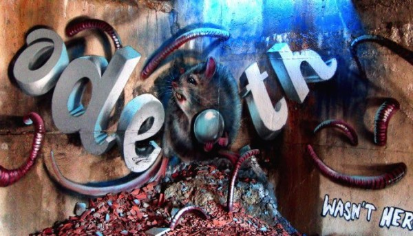 O Graffiti 3D de Odeith
