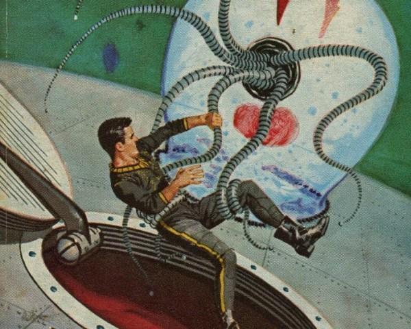 Capas de Livros de Ficção Científica com Ski-Ffy
