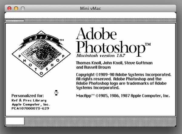 Photoshop 1.0: Você conseguiria usar?