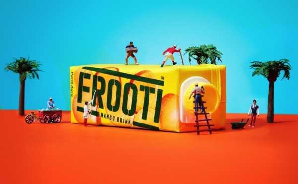 Um Novo Logo para Frooti