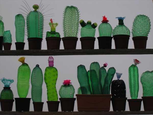 A Arte feita de Garrafas PET de Veronika Richterová