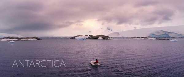 Kalle Ljung: A Antártida filmada por Drones