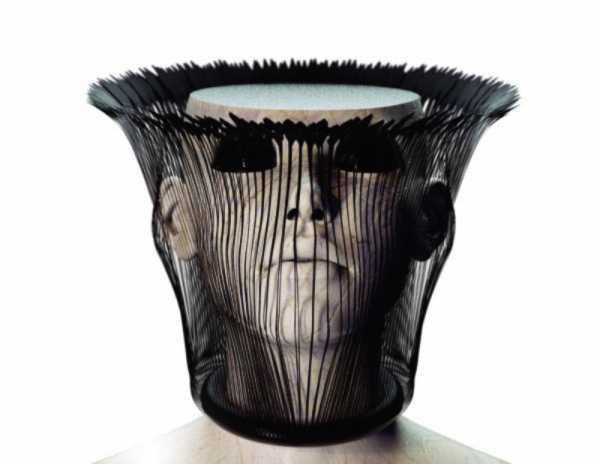 Cornel Swoboda e seu peoma visual And then I Vanish