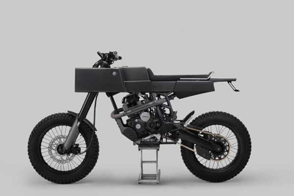 Thrive Motorcycles: T 005 Cross, uma moto bem quadrada