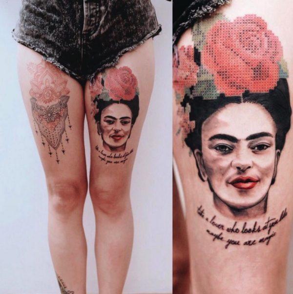 Eva Krbdk e Suas Tatuagens