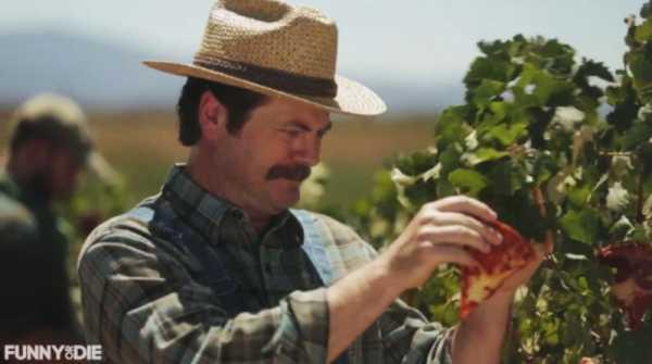 Uma Fazenda de Pizzas com Nick Offerman