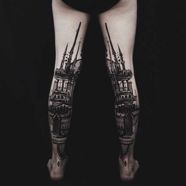 As tatuagens do Thieves of Tower