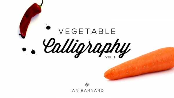 Caligrafia com Vegetais com Ian Barnard
