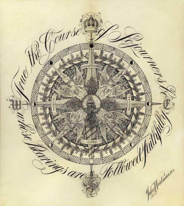 Jake Weidmann, o mais Jovem Mestre da Caligrafia