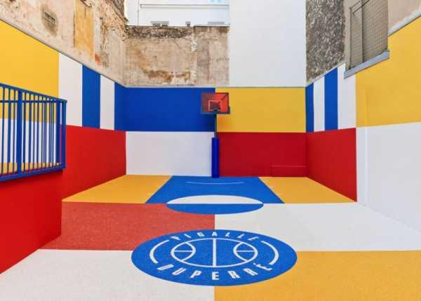 Pigalle Duperré, a quadra de basquete mais colorida da história de Paris