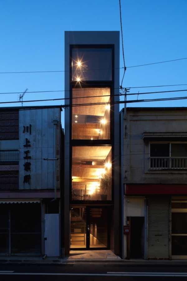 Uma casa Minimalista no Japão pelo YUUA