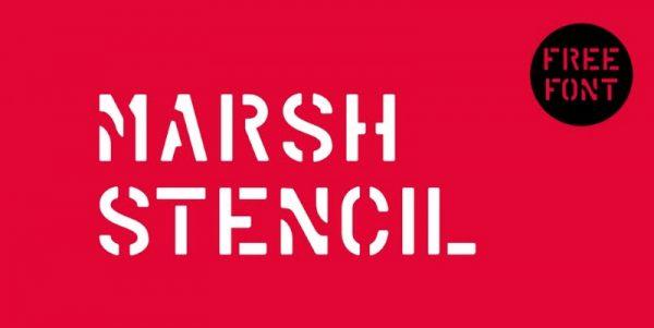 Marsh Stencil do Guilherme Schneider