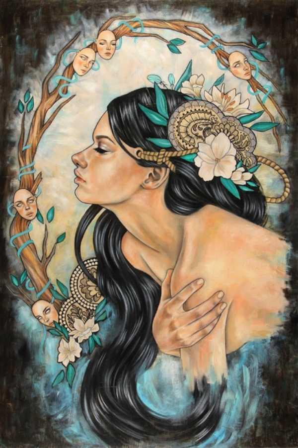 Wendy Ortiz e sua Art Nouveau