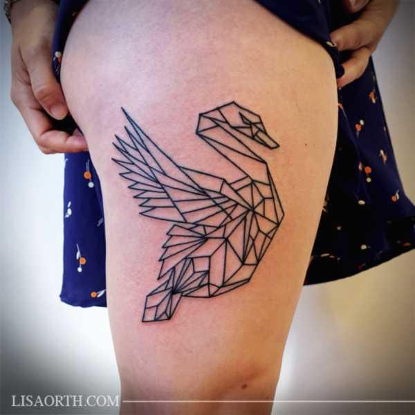 Lisa Orth e suas Tatuagens