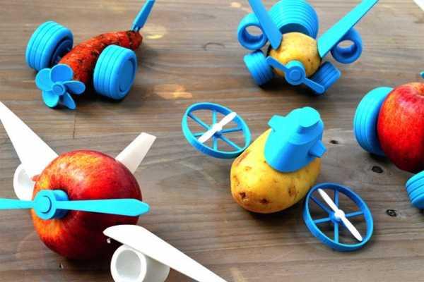 Brincando com Comida e uma Impressora 3D