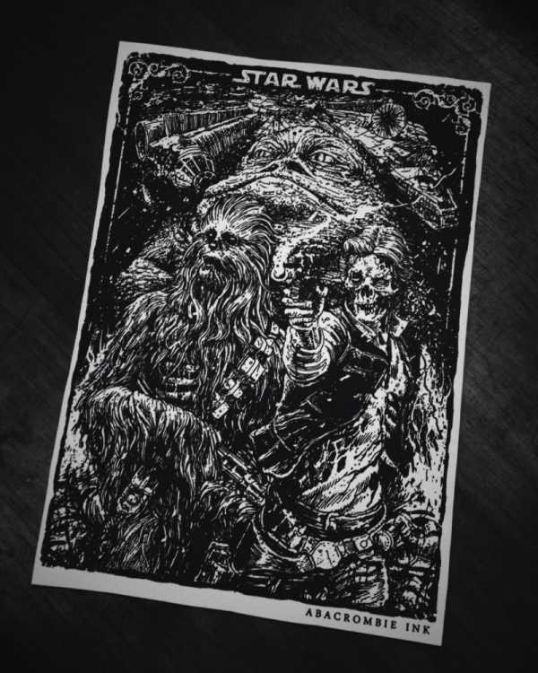 Abacrombie INK: As Ilustrações de Hugo Silva