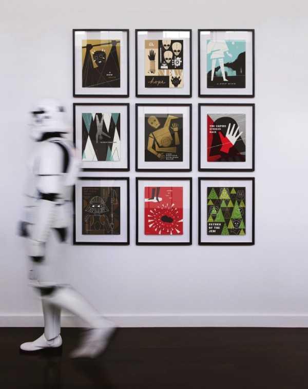 Ty Mattson e seus posters para Star Wars