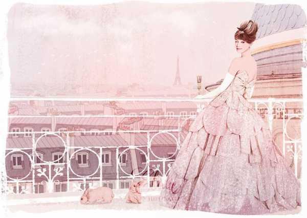 Ëlodie e suas ilustrações de moda