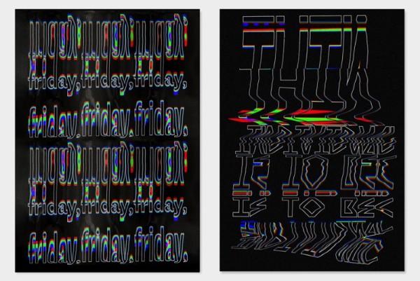 Tipografia Distorcida com o designer Ruben Montero