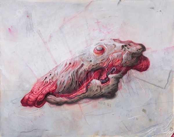 Allison Sommers e suas Pinturas Apocalípticas