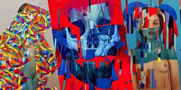 Erik Jones: Formas Geométricas, Caveiras e Mulheres