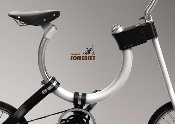 Somerset: A Menor Bicicleta Dobrável?