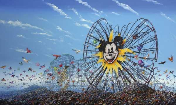 Jeff Gillette: Disneylândia em Pedaços